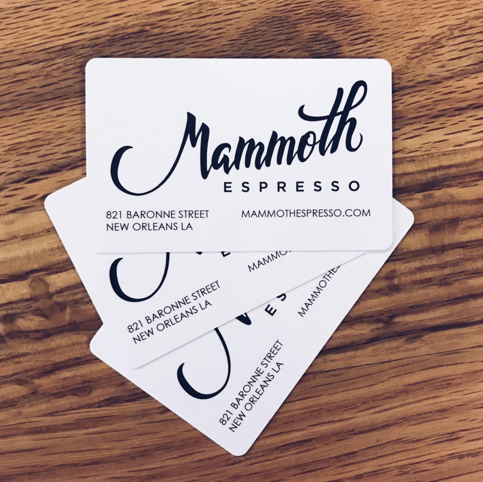 Gift Card - Mammoth Espresso